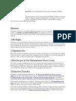 Partido Cruzada Ciudadana Informacion