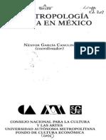 LA ANTROPOLOGÍA URBANA EN MÉXICO ÍNDICE.pdf