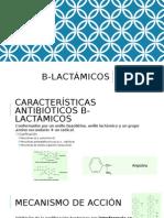 B Lactámicos