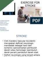 Exercise for Stroke