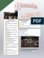 unit 5 newsletter