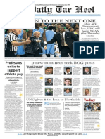 The Daily Tar Heel for Mar. 16, 2015