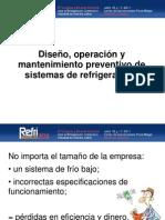 Diseno Operacion y Mantenimiento Preventivo de Sistemas de Refrigeracion Por Rodnei Peres