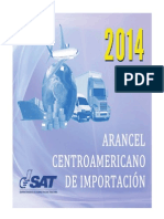 Arancel Centroamericano de Importacion 2014