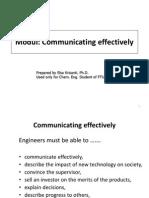 1 Modul Communication Skill 2014 Mhs