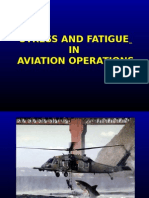 Stress and Fatigue in Aviation
