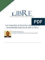 Las Campañas al Desierto Julio A. Roca