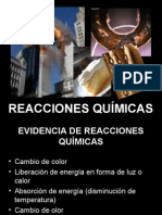 REACIONES QUIMICAS