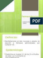 Farmacodermias