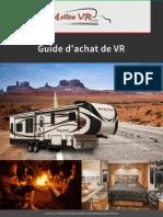 Action VR - Guide d'achat pour un véhicule récréatif au Québec