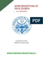 Esercitazione Fisica Tecnica234