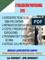 Cursos de Actualización Profesional - 2015.pptx