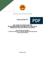 QCVN 6-2010 (Giao Dien Kenh Thue Rieng Cau Truc So Va Khong Cau Truc So 2048 Kbps)