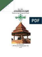 Bukusaku muharrik masjid lengkap
