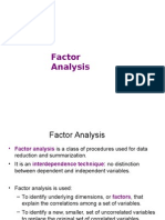 Factor Analysis Class