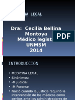 Introduccion Med Legal Ucv