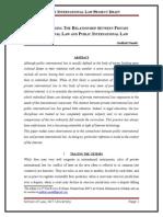 Private International Law Draft