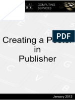 Create Poster in Publisher 2