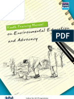 "Training Manual on Natural Resource Management ""Youth Training Manual on Environmental Education and Advocacy-"""