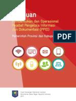 Buku Panduan Pembentukan PPID
