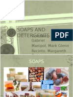 Soaps and Detergent