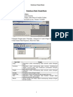 Database Pada Visual Basic
