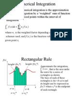 Numerical Integration 01