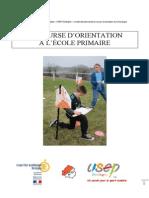 La Course d Orientation a l Ecole Primaire PDF Par Stephane CHAGNON Spt 2011