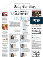 The Daily Tar Heel for Jan. 27, 2010