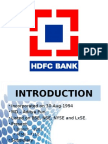 HDFC Bank PPT