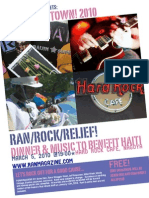 RANmagazine Rock This Town 2010 Poster