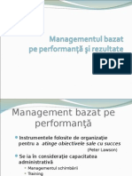 Managementul performant