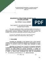 98 Siguranţa Structurilor Metalice