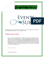 BUYERS & SERVICE PROVIDERS MEET IN THE LEGAL INDUSTRY