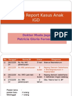 Morning Report Anak- IGD