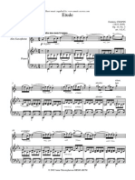 Chopin Op10 No3 Etude Alto Sax