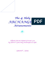 Four Holy Archangels Attunements