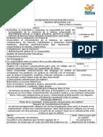 Planeacion Educacion Fisica IV Bloque