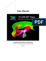 FLOW-3D Cast 3.1 Manual