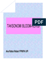 Revised Bloom Taks
