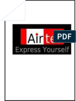 21210809 Project Report on Market Share of Airtel 121113023034 Phpapp02