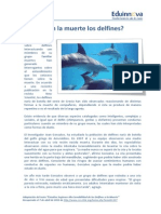 05 Texto Impreso – Entienden La Muerte Los Delfines – Texto Cientifico