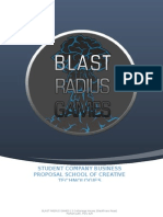 Blast Radius Games Business Proposal - University of Portsmouth