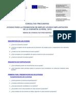 Consultas Frecuentes Plan Empleo Juvenil 2014