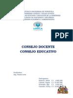 Informe Consejo Docente