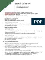 Resumão AV2 - Fármaco