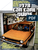 Car Care Guide - Popular Mechanics - May 1978