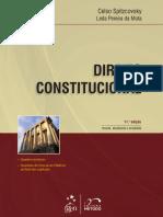 CELSO SPITZCOVSKY e LEDA PEREIRA MOTA - Serie Concursos Publicos - Direito Constitucional (2013)