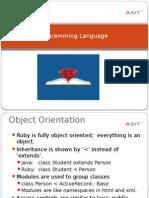 Learn RUBY Programming Language at ASIT