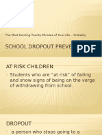 school dropout prevention